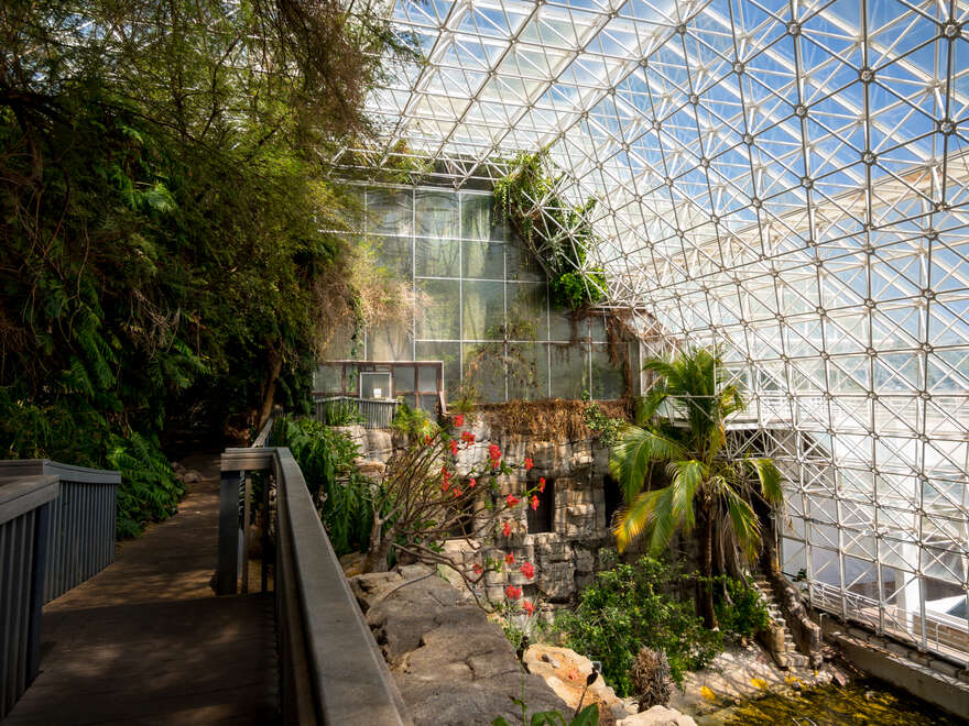 Atomic Tourism Biosphere 2