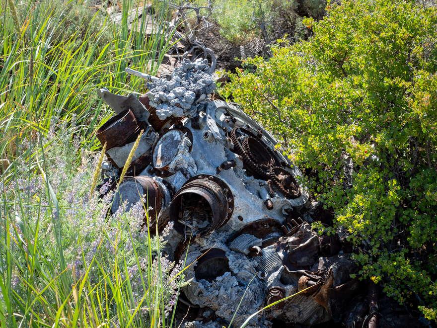 Pueblo Mountains B24D Crash