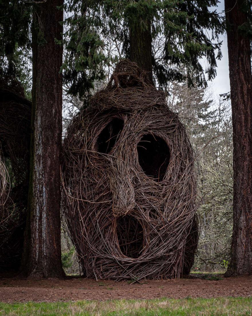 Stickwork Sculptures
